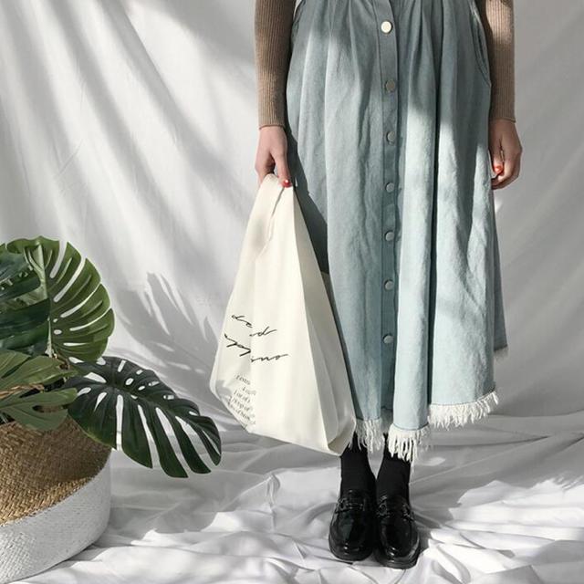 dholic(ディーホリック)の☆新品未使用☆韓国ファッション☆マザーズバッグ☆エコバッグ☆depound レディースのバッグ(トートバッグ)の商品写真