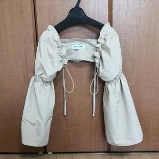 KISHIDAMIKI シャーリング スリーブ 付け袖