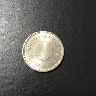昭和天皇陛下御在位50年 100円記念硬貨(貨幣)