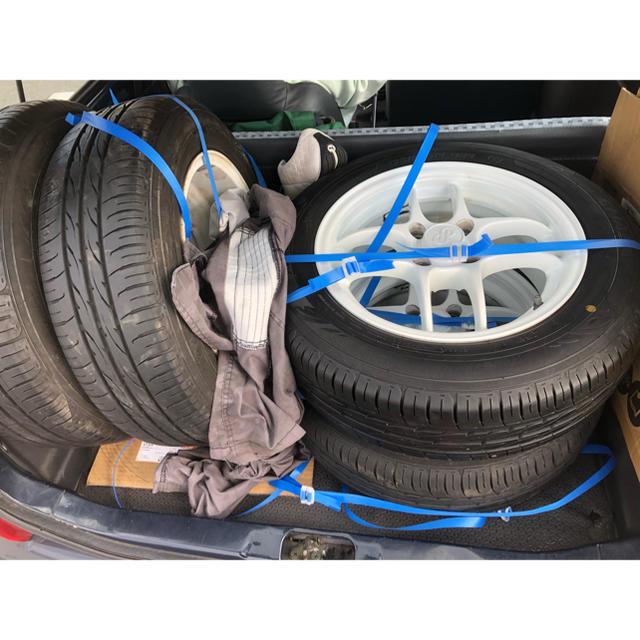 格安 エンケイ コンペティションSII 自動車/バイクの自動車(タイヤ・ホイールセット)の商品写真