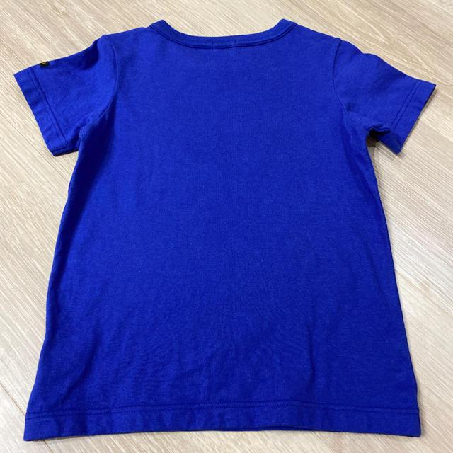 DOUBLE.B(ダブルビー)のあおい みや様専用★  超美品 ミキハウス ダブルB 半袖 Tシャツ 110 キッズ/ベビー/マタニティのキッズ服男の子用(90cm~)(Tシャツ/カットソー)の商品写真