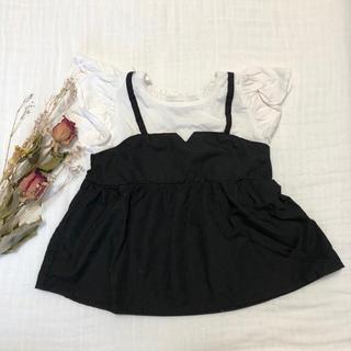 futafuta - レイヤードTシャツ futafuta 半袖