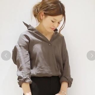 DEUXIEME CLASSE - Deuxieme Classe イタリアセイサン カシュクールシャツ