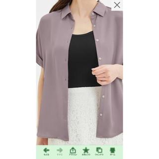 ジーユー(GU)のGU エアリーシャツ XL(シャツ/ブラウス(半袖/袖なし))