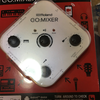 Roland go mixer(オーディオインターフェイス)
