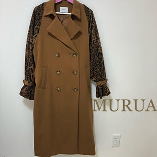 MURUA - 新品!【MURUA】トレンチコート バイカラースプリングコート
