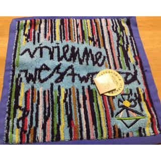 ヴィヴィアンウエストウッド(Vivienne Westwood)のヴィヴィアンウエストウッド タオルハンカチ(ハンカチ)