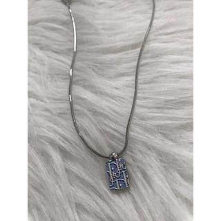 クリスチャンディオール(Christian Dior)のレア 美品 dior ネックレス(ネックレス)