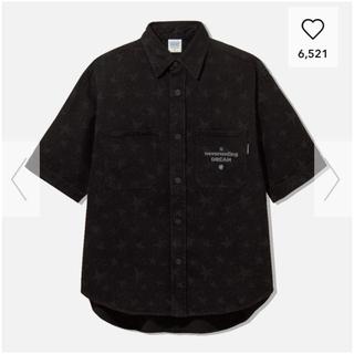 ジーユー(GU)のGU×STUDIO SEVEN デニムワークシャツ 5分袖(シャツ)