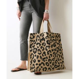 アパルトモンドゥーズィエムクラス(L'Appartement DEUXIEME CLASSE)の【MAISON BENGAL/メゾン ベンガル】 Leopard BAG(トートバッグ)