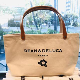 ディーンアンドデルーカ(DEAN & DELUCA)の新品☆DEAN AND DELUCA ハワイ限定 トートバッグ 生成り レザー(トートバッグ)