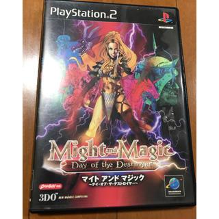 プレイステーション2(PlayStation2)のマイトアンドマジック PS2 プレイステーション レア(家庭用ゲームソフト)