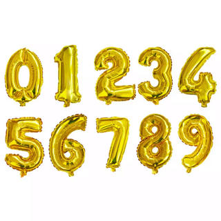 ⭐️誕生日バルーン 数字(H014)❤️(その他)