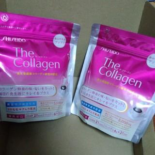 シセイドウ(SHISEIDO (資生堂))の新品 ザ・コラーゲン コラーゲン高美活パウダーV 126g 2個セット(コラーゲン)