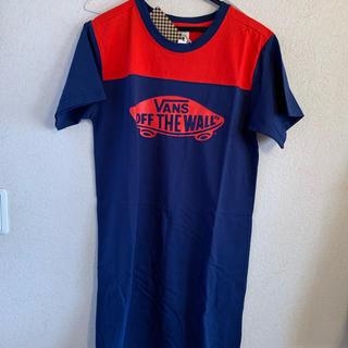 ヴァンズ(VANS)のvansワンピースTシャツ(Tシャツ(半袖/袖なし))