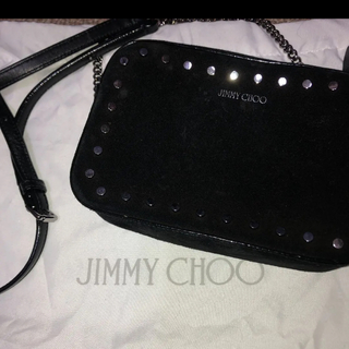 JIMMY CHOO - JIMMY CHOO スタッズミニバッグ