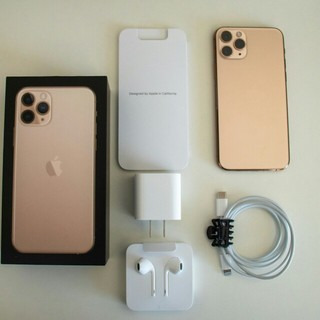 iPhone - iPhone 11 Pro 256GB Gold SIMフリ