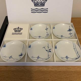 ROYAL COPENHAGEN - ブルーパルメッテ 小皿 5柄セット 新品 ロイヤルコペンハーゲン