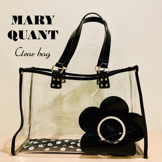 MARY QUANT - MARY QUANT クリア トート バッグ マリークワント