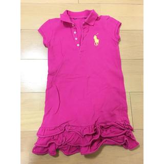ラルフローレン(Ralph Lauren)のラルフローレン ワンピース ポロシャツ 120 女の子 オシャレ ラルフ(ワンピース)
