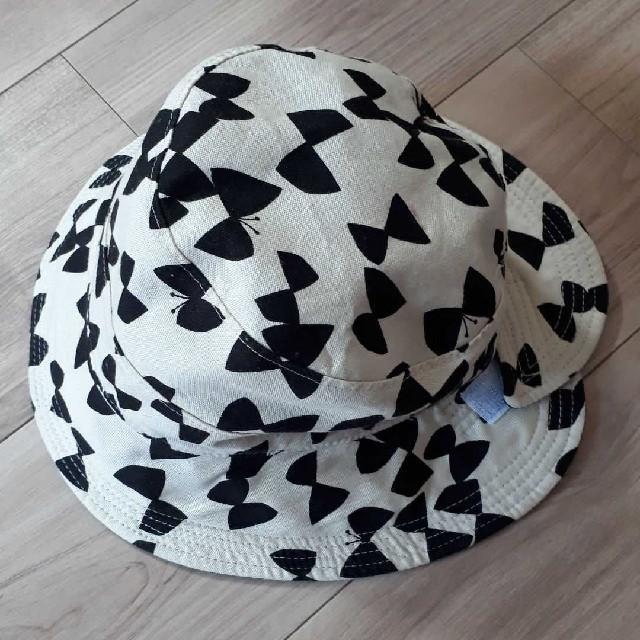 anyFAM(エニィファム)のanyfam エニィファム リボン 帽子 キッズ/ベビー/マタニティのこども用ファッション小物(帽子)の商品写真