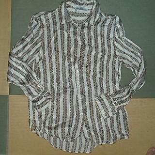 ザラ(ZARA)のZARAチェーンシャツ(シャツ/ブラウス(長袖/七分))
