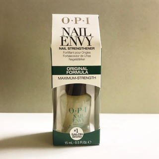 OPI ネイルエンビー オリジナル ベースコート 自爪強化剤 NAIL ENVY(ネイルトップコート/ベースコート)