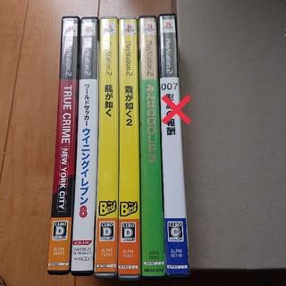 プレイステーション2(PlayStation2)のプレステ2 ソフト6点セット(家庭用ゲームソフト)