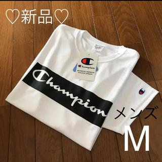 Champion - 新品❤️チャンピオン 速乾性Tシャツ メンズM ホワイト