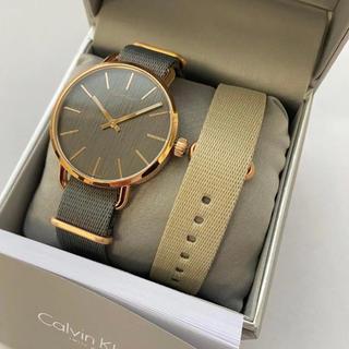 Calvin Klein - カルバンクライン 腕時計 メンズ NATOベルト 2本付き