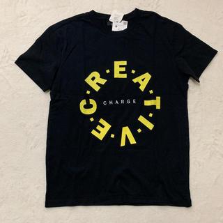 ザラ(ZARA)の新品  ZARAbershka  プリントTシャツ  XS(Tシャツ(半袖/袖なし))