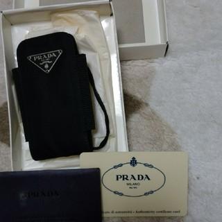 プラダ(PRADA)のPRADA 携帯ケース(モバイルケース/カバー)