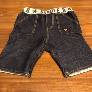 ダブルビー(DOUBLE.B)のダブルビー パンツ 80サイズ(パンツ)
