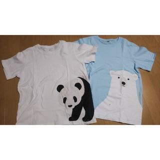 MUJI (無印良品) - 無印 130 半袖Tシャツ 2枚