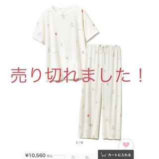 gelato pique - ジェラートピケ新品未使用未開封ピケグッズモチーフTシャツ&ロングパンツSET!