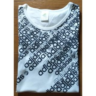 アディダス(adidas)のadidas アディダス 白 Tシャツ(Tシャツ/カットソー(半袖/袖なし))