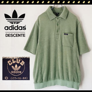 アディダス(adidas)の90s CLUB adidas★デサント製★モコモコパイル★プルオーバーシャツ(シャツ)