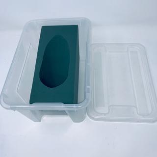 蓋付きDHヘラクレスオオカブトなど大型外国産カブトムシ用人工蛹室専用ケースセット(虫類)