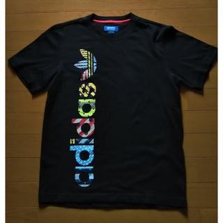 アディダス(adidas)のアディダス adidas 黒 Tシャツ 半袖(Tシャツ/カットソー(半袖/袖なし))
