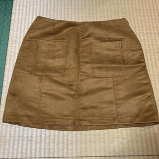 オールドネイビー(Old Navy)のOLD NAVY スウェード スカート(ミニスカート)