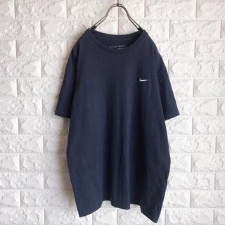ナイキ(NIKE)の90s ナイキ ワンポイント 刺繍ロゴ Tシャツ(Tシャツ/カットソー(半袖/袖なし))