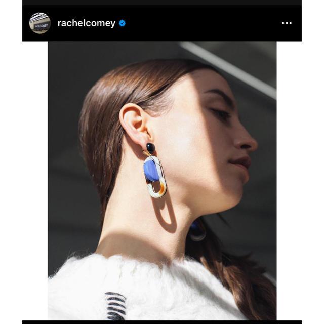 DEUXIEME CLASSE(ドゥーズィエムクラス)の未使用美品Rachel Comeyレイチェルコーミー ピアス レディースのアクセサリー(ピアス)の商品写真