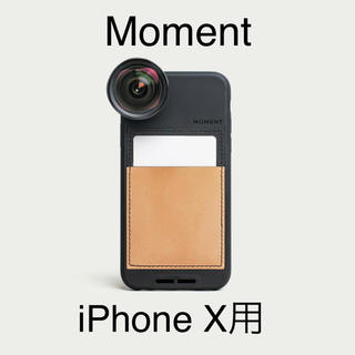 Moment Wallet Case (iPhone X用)(iPhoneケース)