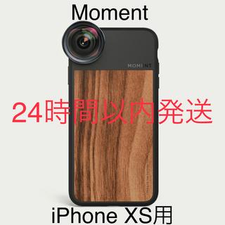 【日本未発売】Moment iPhone XS Walnut Wood Case(iPhoneケース)
