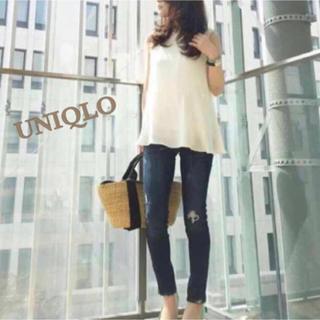 UNIQLO - ❀UNIQLO❀エアリータンクブラウス❀
