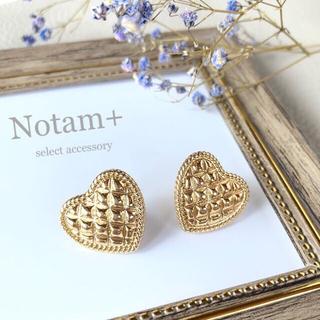 Kastane - N-073 vintage quilting Heart pierce