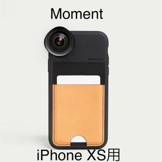 日本未発売 Moment iPhone XS Wallet Case(iPhoneケース)