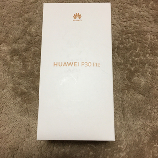 HUAWEI P30 lite パールホワイト(スマートフォン本体)
