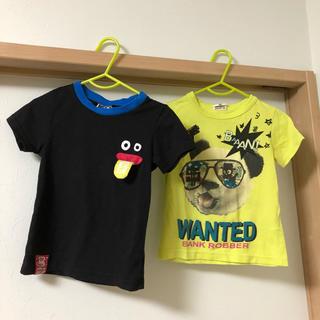 ビッツ(Bit'z)のビッツTシャツ 100   2枚セット(Tシャツ/カットソー)