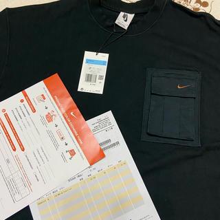 ナイキ(NIKE)のNlke × Travis Scott  Tシャツ Mサイズ 新品未使用(Tシャツ/カットソー(半袖/袖なし))
